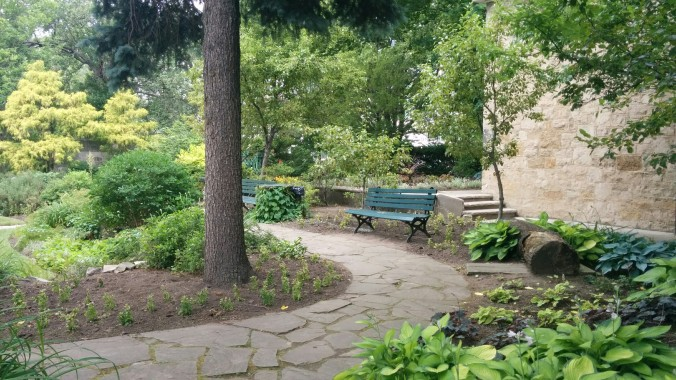 Odds are I will find myself back here with my laptop while I'm writing my book. After all, it does take place in Hamilton. In fact, there is a scene that is set in this garden!