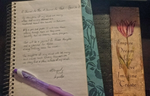 My poetry always went to the notebook first, and still does, but my blog gave my words wings and let them fly.